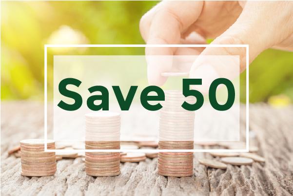 Save50